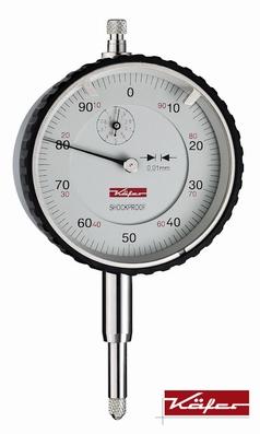 Mechanical dial gauge MU 52TS, Ø58 mm, 10/1/0,01 mm, S