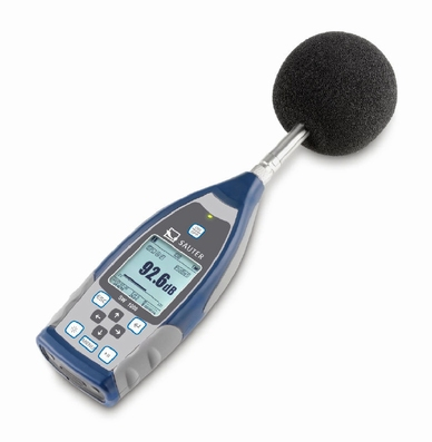 Sound level meter, class 1, 20~134 dBA, 0.01~20 kHz