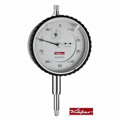 Mechanical dial gauge MU 52 T,10/1/0.01 mm, Ø58 mm