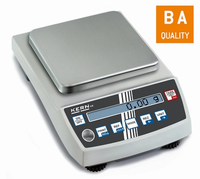 Laboratory balance KB 650 g/0,01g, 130x130 mm