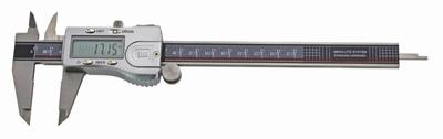 Pied à coulisse digital ABS, 150 mm, 40 mm, 3V, data, rec