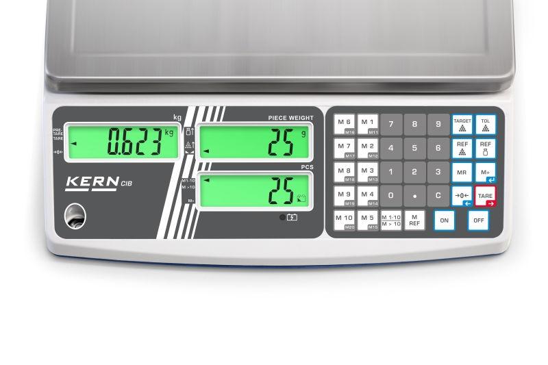 Entry level counting balance CIB, 15kg/1g, 315x215 mm