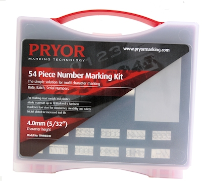 54 characters kit PRYOR, h=4.0 mm