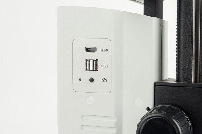 Videomicroscope OIV 254, 2 MP, HDMI, 0.7~5x, photo