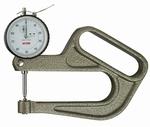 Analogue thickness gauge J100, 10/0.01/100 mm
