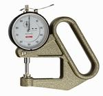 Analogue thickness gauge J50/LD, 10/0.01/50 mm