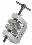 2x screw-in tension clamp with 1 set of jaws 30mm, Fmax 1 kN
