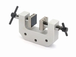 2x screw-in tension clamp with 1 set of jaws 50mm, Fmax 1 kN