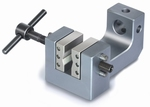 2x screw-in tension clamp with 1 set of jaws, Fmax 1 kN