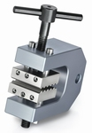2x screw-in tension clamp with 1 set of jaws, Fmax 2.5 kN