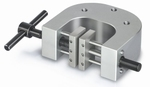 2x screw-in tension clamp with 1 set of jaws, Fmax 5 kN