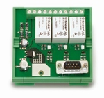 Control module with integrated relays for FH