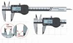 Digital caliper, 150 mm, 40 mm, 3V, rec, HM