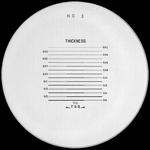 Reticule plate Ø 26 mm, for magnifier 7x, black, n° 3