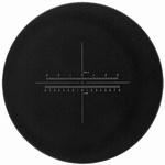 Réticule Ø 35 mm, pour loupes 10x, blanc, n° 14