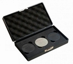 Set van 3 calibration plates for Shore OO with certificate