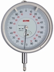 Mechanical dial gauge FM1000/80-5, 5/0.2/0.001 mm, Ø80 mm