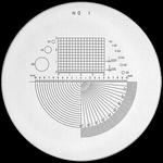 Réticule Ø 35 mm, pour loupes 10x, noir, n° 1