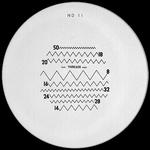 Réticule Ø 35 mm, pour loupes 10x, noir, n° 11
