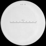 Reticule plate Ø 35 mm, for magnifier 10x, black, n° 13