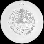 Réticule Ø 35 mm, pour loupes 10x, noir, n° 2