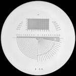 Réticule Ø 35 mm, pour loupes 10x, noir, n° 4