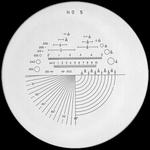 Réticule Ø 35 mm, pour loupes 10x, noir, n° 5