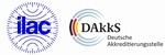 DAkkS calibration certificate for weight F1/2, 100 g
