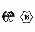 Homologation avec certificat, poids M1, 2g