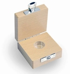 Wooden box for milligram weights, classes E1 - M3