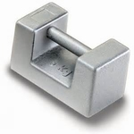 Rectangular weight  M1, stainless steel, 50 kg ± 2500 mg
