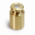 Cylindrical weight M3, brass, 20 g ± 25 mg