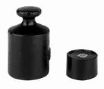 Cylindrical weight M3,cast iron lacquered, 1kg ± 0,50 g