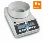 All-rounder laboratory balance 572, 420 g/0,001g, Ø106 mm