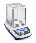 Analytical balance ALJ, 510 g, 0.1 mg, Ø 80 mm