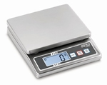 Stainless steel scale FOB-NS, IP65, 5 kg/1 g, 120x150 mm