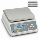 Bench scale inox WTB, IP65, 3 kg/0.5 g , 260x200 mm