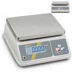 Bench scale inox WTB, IP65, 15 kg/2 g , 260x200 mm