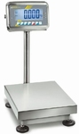 Stainless steel scale SFB-H, IP65, 100kg/10g, 400x300 mm