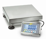 Stainless steel platform scale IP65, 100kg/10g, 650x500 mm