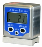 Digital clinometers with magnet & V long, 4x90°/0.1°