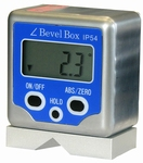 Digital clinometers with magnet & V tran, 4x90°/0.1°