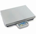 Platform scale DE, 150|300kg,50|100g, 650x500 mm
