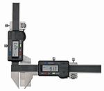 Digital caliper, 150 mm, 40 mm, 1,5V, rec