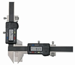 Digital caliper for gear tooth M5~50