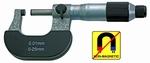 Micromètre d'extérieur, Ø6.5 mm, 0.5mm, 0~25 mm
