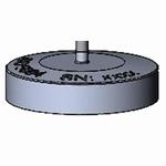 Insert Ø50,5/204 g for ISO 5084/1±0,01 kPa