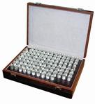 Jeu de 100 piges, 5.01~6.00 mm, pas 0.01 mm, ± 2 µm