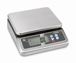 Stainless steel scale FOB-LM, 15 kg/5 g, 215×215 mm (M)