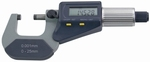 Outside digital micrometer, Ø6.5 mm, 0.5 mm, 0~25 mm